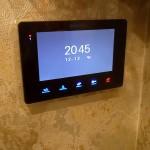 Установка подключение видеодомофона в квартире вместо обычного звонка - прокладка кабеля