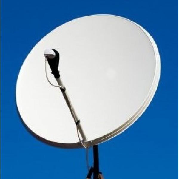 Комплект ВОСТОК на 2 тв. Спутниковая антенна на один спутник установкой для подключения 2-х телевизоров. Каналы без абонплаты