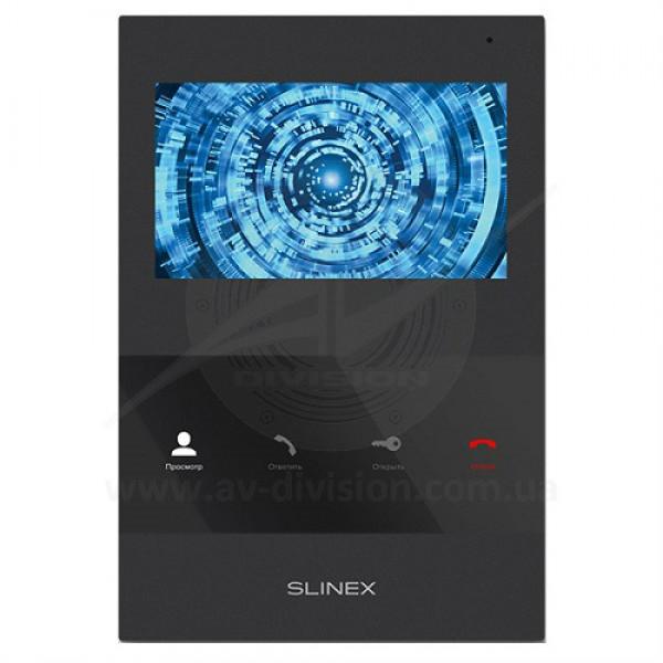 """SLINEX SQ-04 (цвет - черный). Панель видеодомофона с экраном 4.3"""""""