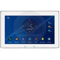 """SLINEX Mira (цвет - белый). Панель IP видеодомофона с экраном 10"""", автоответчиком, диктофоном, видеорегистратором"""