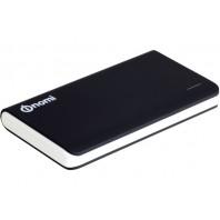 NOMI Power Bank P080 8000 mAh (цвет - черный). Универсальный внешний USB аккумулятор Li-Pol для телефона, планшета, плеера