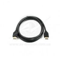 ATcom Standard HDMI-HDMI ver 1.4 CCS PE 1m black. Цифровой межблочный аудио-видео кабель HDMI-HDMI версия 1.4, длина провода 1 м