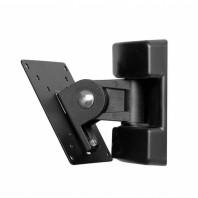КВАДО К-120. Настенный поворотный кронштейн с наклоном для телевизора с диагональю 15''-28''
