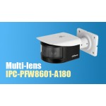 Панорамная IP камера видеонаблюдения Dahua DH-IPC-PFW8601-A180