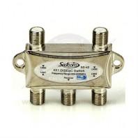 SATCOM SD-42. Переключатель DiSEqC 2.0 4 входа / 1 выход