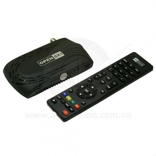 OPEN SX1 HD DOLBY AUDIO. Спутниковый ресивер формата Full HD c поддержкой AC3, функцией записи, WEB сервисами