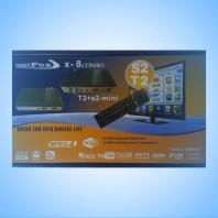 OPENFOX X-8 HD COMBO - Комбинированный спутниковый и эфирный ресивер FULL HD - DVB-S2 - DVB-T2 - IPTV - YOUTUBE - MEGOGO