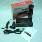 LORTON S2-33CL. Спутниковый ресивер с картоприемником формата Full HD c функцией записи и YouTube