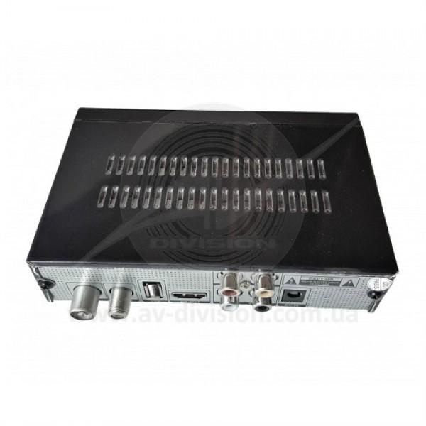 ORTON COMBO S2+T2 NEW. Комбинированный спутниковый и эфирный Т2 тюнер формата Full HD c функцией записи, IPTV, YOUTUBE, MEGOGO