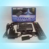 ORTO SHUTTLE. Спутниковый тюнер формата Full HD c функцией записи, с подключением USB Wi-Fi, просмотр IPTV, YOUTUBE
