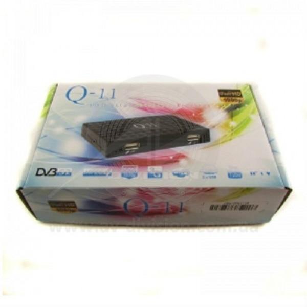 Q-SAT Q-11 HD. Спутниковый ресивер формата DVB-S2 Full HD c функцией записи и IPTV