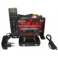 SATCOM 4110 HD. Спутниковый тюнер формата Full HD c функцией записи, USB Wi-Fi, IPTV, Web сервисами