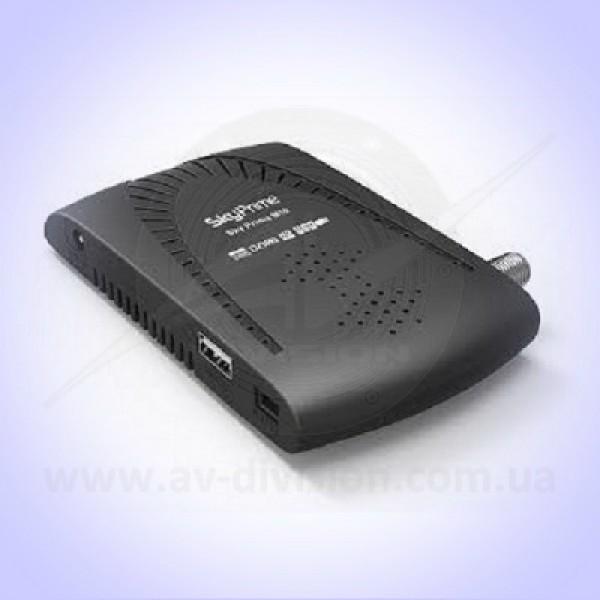 SKY PRIME M10 HD. Спутниковый тюнер формата Full HD c функцией записи, с подключением USB Wi-Fi, просмотр IPTV, YOUTUBE