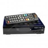 TIGER X100 HD. Спутниковый тюнер формата Full HD c функцией записи, USB Wi-Fi, IPTV, Web сервисами