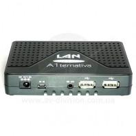 U2C A1ternativa LAN. Спутниковый ресивер формата Full HD c функцией записи и IPTV