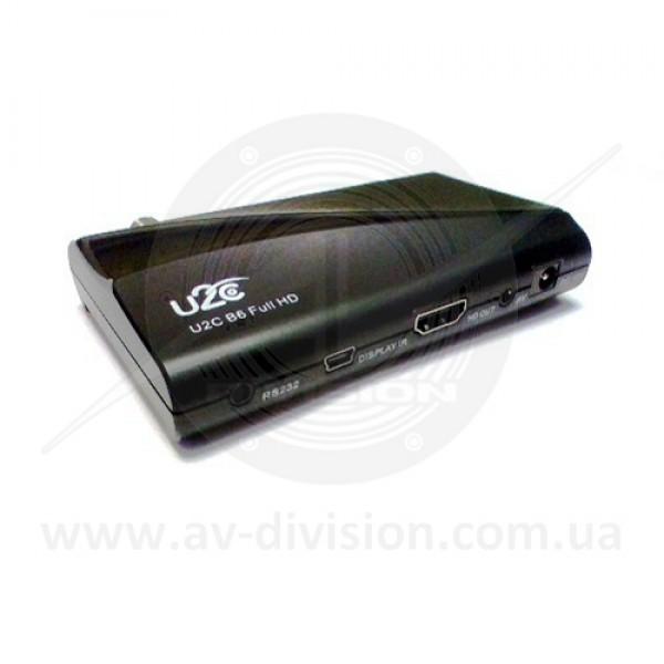 U2C B6. Спутниковый ресивер формата Full HD c функцией записи, IPTV, YOUTUBE, MEGOGO