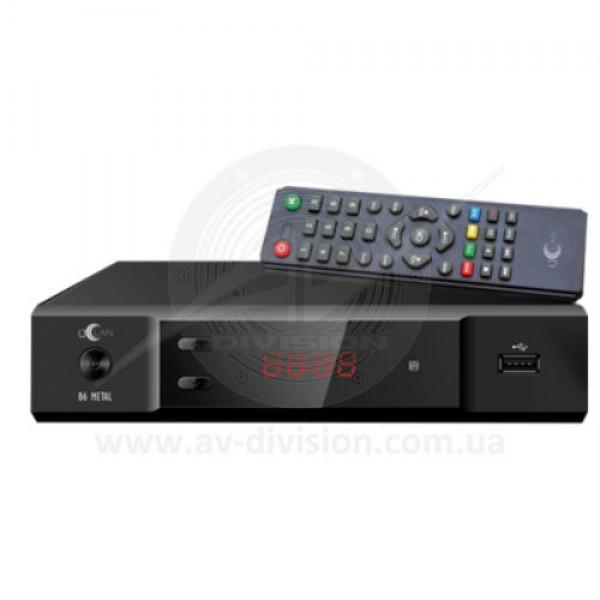 UCLAN B6 METAL (без RF). Спутниковый ресивер формата Full HD c функцией записи и IPTV