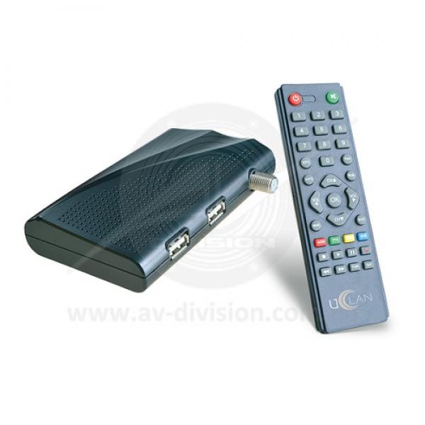 UCLAN B6. Спутниковый ресивер формата Full HD c функцией записи, IPTV и WEB сервисами
