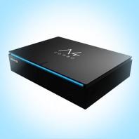 AMIKO A4 COMBO. 4K UHD комбинированный спутниковый и эфирный ресивер ОС Android, Wi-Fi, IPTV, YouTube, Play Market
