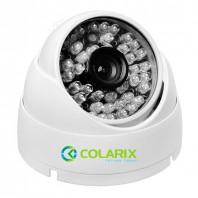COLARIX CAM-DIF-006. AHD купольная камера видеонаблюдения для помещений, разрешение 1,3 Мп, 1280 x 960 (960Р)