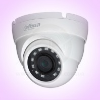 Dahua Technology DH-HAC-HDW1100M-S3-2.8. Купольная HDCVI уличная камера видеонаблюдения