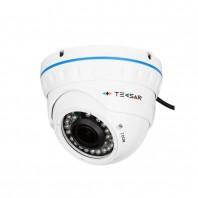 TECSAR AHDD-1Mp-30Vfl-out. AHDD купольная камера видеонаблюдения для улицы и помещений, разрешение 1,3 Мп (960Р)