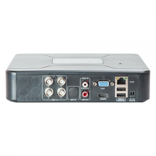 TECSAR FHD-NeoFuturist. AHD видеорегистратор; 4 канала записи; формат записи NVR, HVR, DVR; максимальное разрешение записи до 5 Мп