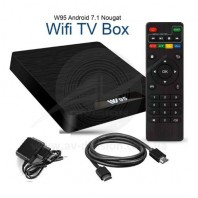 TV BOX W95 S905W 2/16 Gb Android 7.1.2. Мультимедиа Wi-Fi приставка формата 4К