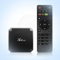 TV BOX X96 Mini S905W 2/16 Gb Android 7.1.2. Мультимедиа приставка формата 4К со встроенным Wi-Fi для телевизора