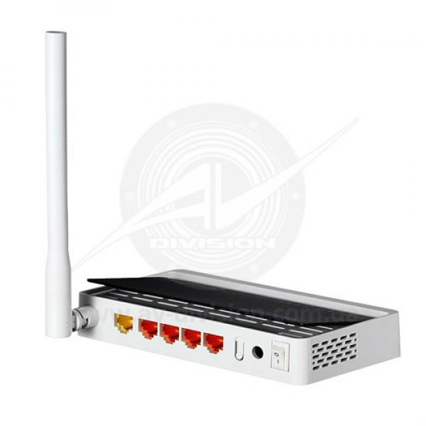 TOTOLINK N150RT. Wi-Fi роутер коммутатор 150 Mbps, усиление антенны 5 dBi, порты 1 WAN / 4 LAN 10/100 Mbps, частотный диапазон 2,4 GHz 802.11 b/g/n