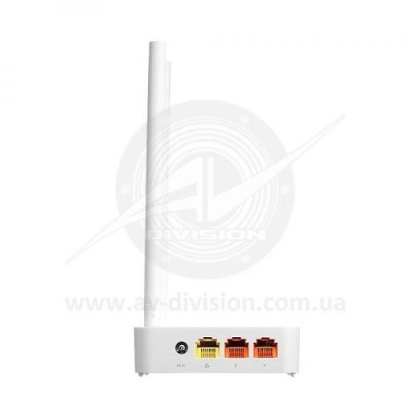 TOTOLINK N200RE. Wi-Fi роутер коммутатор 300 Mbps, усиление антенны 2 х 5 dBi, порты 1 WAN / 4 LAN 10/100 Mbps, частотный диапазон 2,4 GHz 802.11 b/g/n