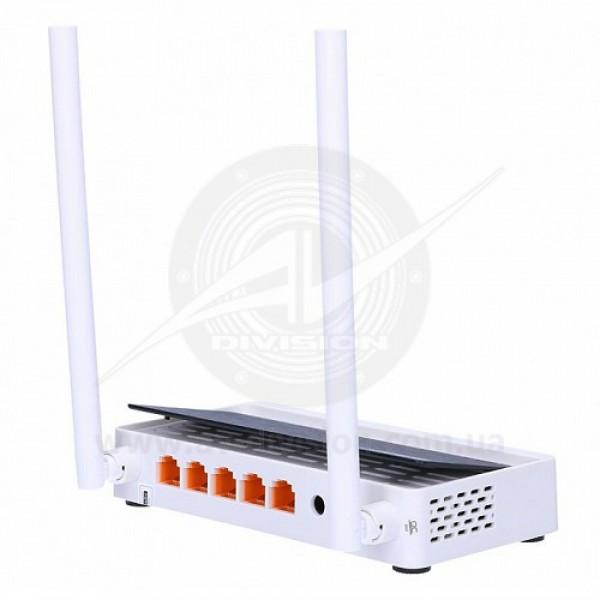 TOTOLINK N300RT. Wi-Fi роутер коммутатор 300 Mbps, усиление антенны 2 х 5 dBi, порты 1 WAN / 4 LAN 10/100 Mbps, частотный диапазон 2,4 GHz 802.11 b/g/n