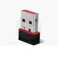 LORTON MICRO RT-5370. Wi-Fi адаптер USB 2.0, усиление антенны 2dB, скорость передачи данных 150 Mbps, дальность действия до 50 м